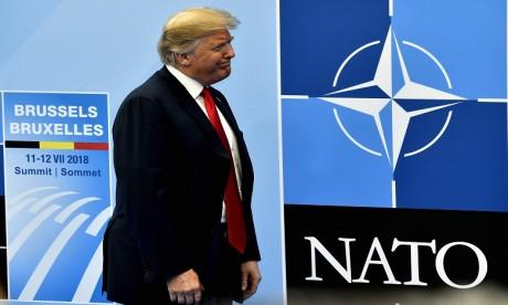 Otan : Trump suggère aux Alliés de doubler leurs dépenses militaires