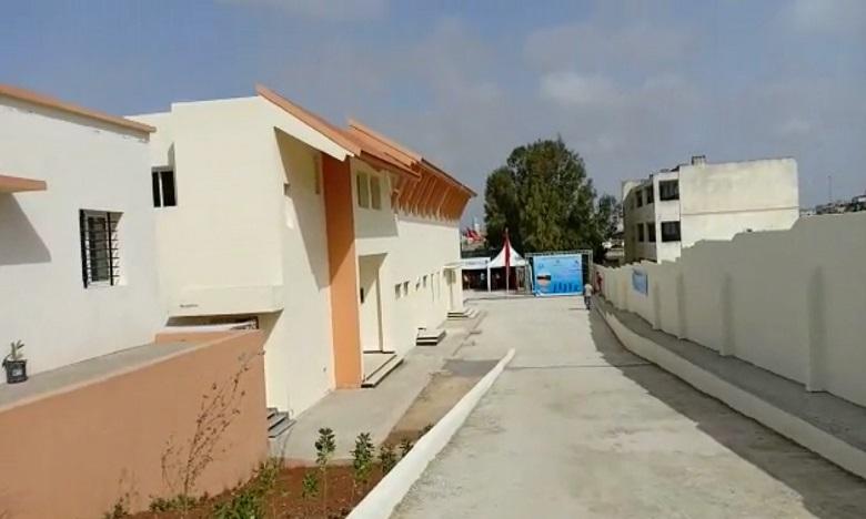 Inauguration du centre d'estivage Al Mandar Al Jamil Al Alia à Mohammedia