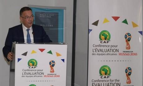 Lekjaa : il faut réduire le fossé entre le football africain et mondial