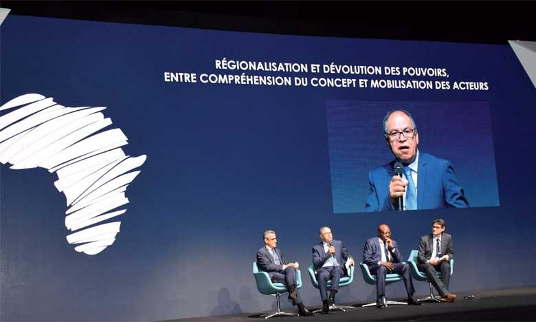 «La création des richesses est un défi majeur pour réussir le chantier de la régionalisation qui n'en est qu'à ses  débuts», analyse M.Guerraoui. Ph. Saouri