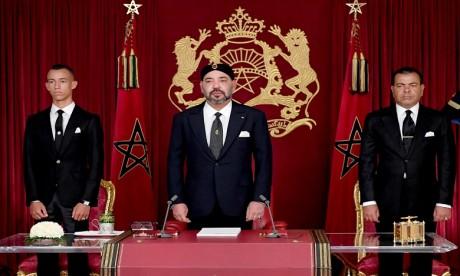 S.M. le Roi Mohammed VI: J'invite le gouvernement et tous les acteurs concernés  à entreprendre une restructuration globale et profonde des programmes et des politiques nationales d'appui et de protection sociale