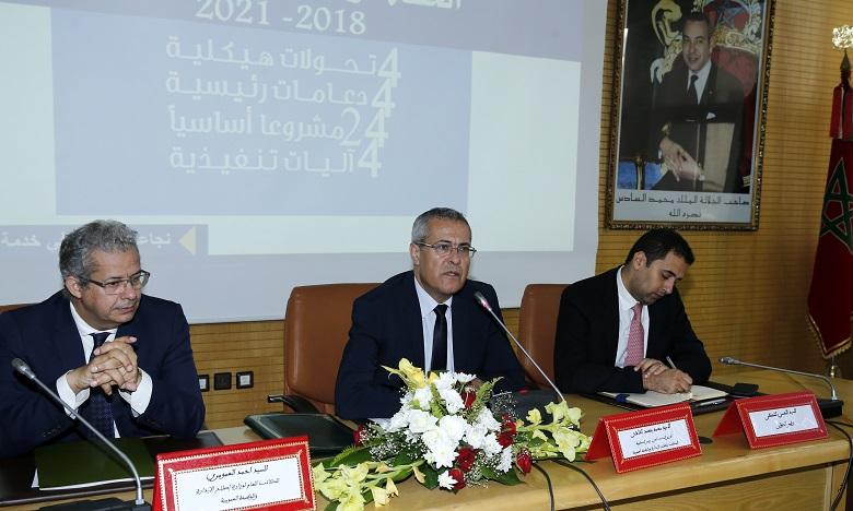 Mohamed Benabdelkader table sur l'approche contractuelle