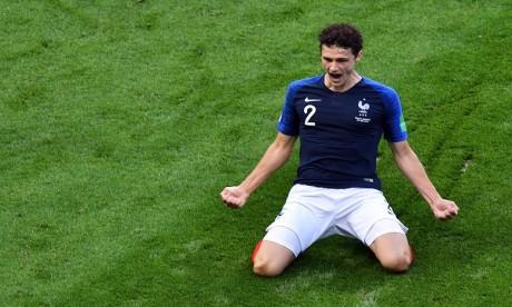 """Benjamin Pavard auteur du """"plus beau but"""" du Mondial 2018"""