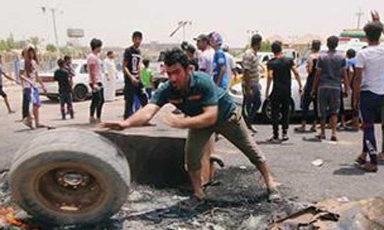 Tentative d'assaut contre un site gouvernemental lors de manifestations
