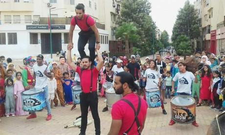 Festival de l'enfant à Hay Hassani