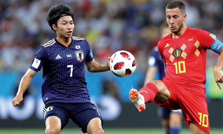 Le Japon se voyait éliminé malgré une prestation de haute facture, alors que la Belgique se réjouissait d'avoir enfin trouvé un coach à la hauteur des talents qui pullulent dans l'équipe.