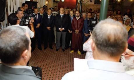 La communauté juive de Fès, Sefrou  et Oujda  célèbre la Fête du Trône