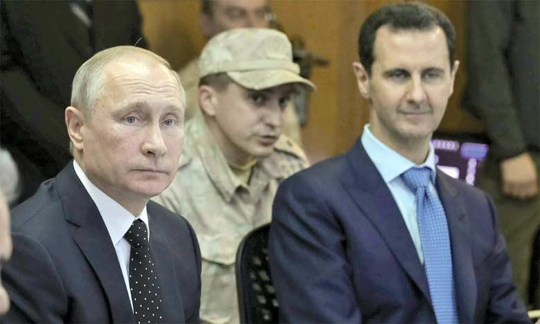 Assad: «l'armée russe est nécessaire  sur le long terme»