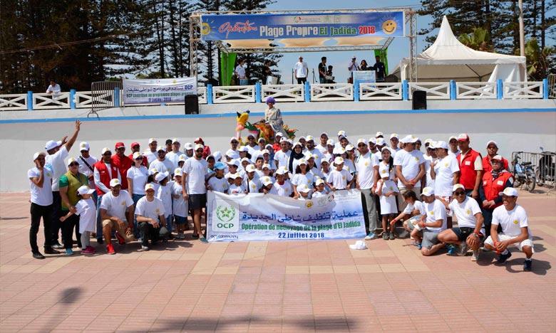 El Jadida : Le groupe OCP élargit son soutien au programme «Plages propres»