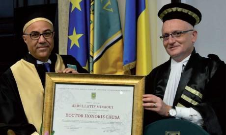 Un nouveau titre de Docteur honoris causa  pour Abdellatif Miraoui