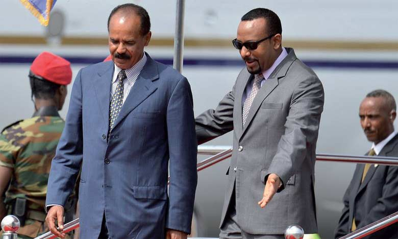 Réouverture de l'ambassade d'Érythrée en Éthiopie