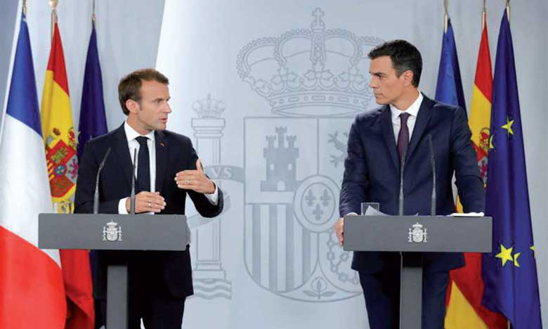 L'Espagne et la France plaident pour  le renforcement de l'appui de l'UE au Maroc