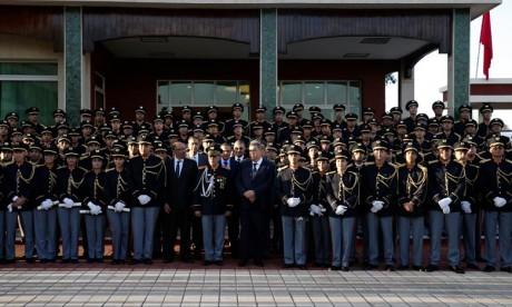 117 lauréats de la 53e promotion des agents d'autorité