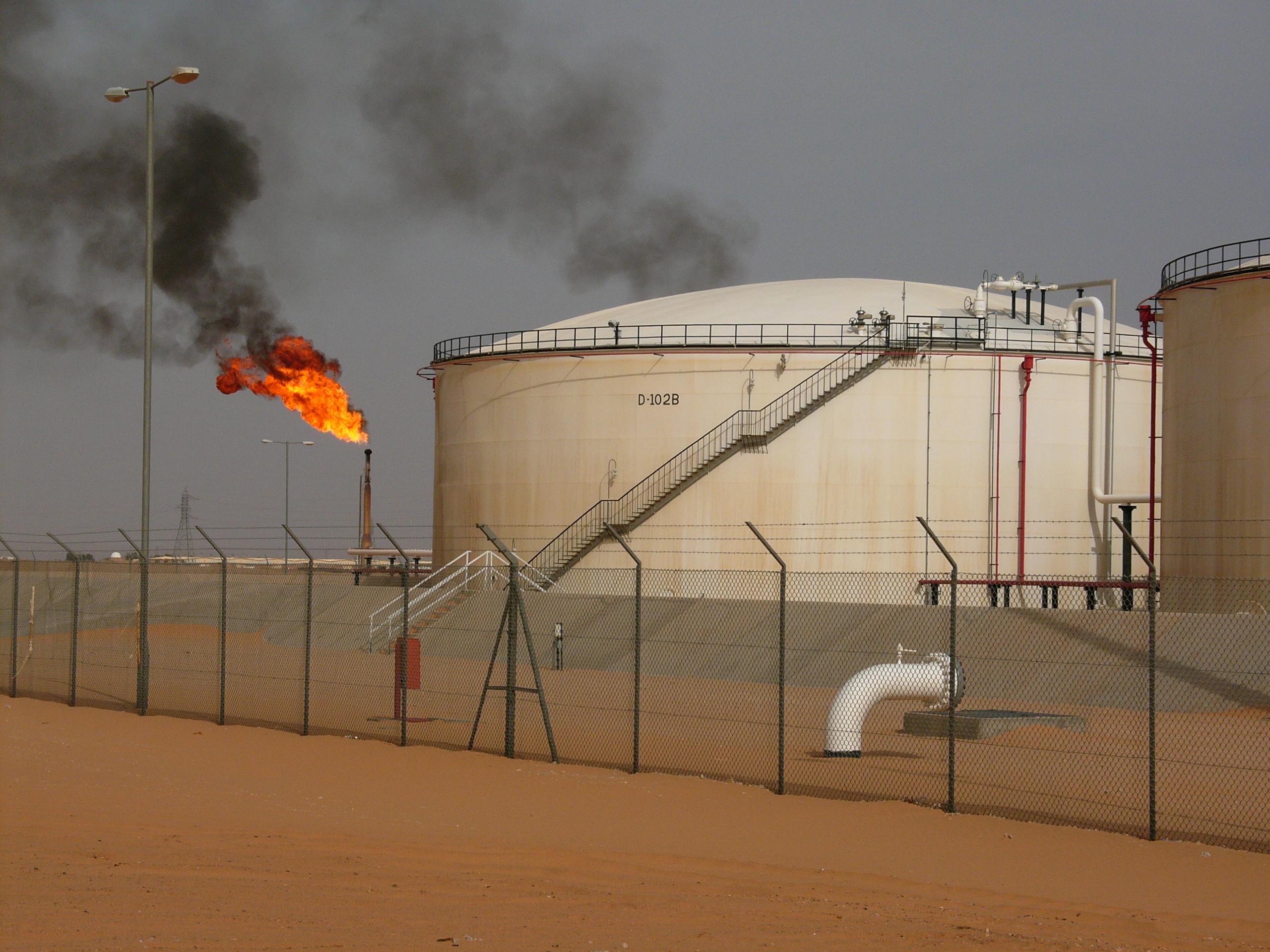 Le torchage des gaz est responsable du rejet de 350 millions de tonnes de CO2 chaque année Ph. DR.