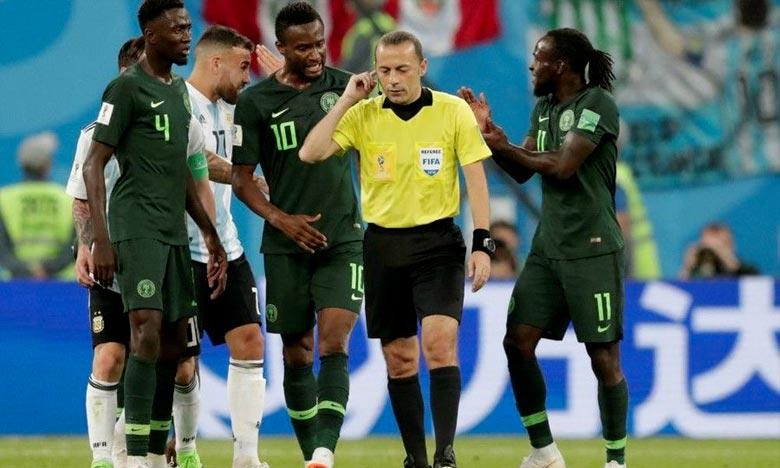 L'arbitre turc controversé Cuneyt Cakir qui au sifflet lors de la demi-finale Croatie-Angleterre n'a, cependant, pas dirigé des matchs lors des huitièmes et quarts de finale. Ph : DR