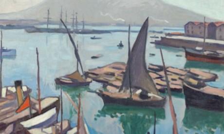 Albert Marquet, le port de Naples, 1909, collection Centre Pompidou, Paris.