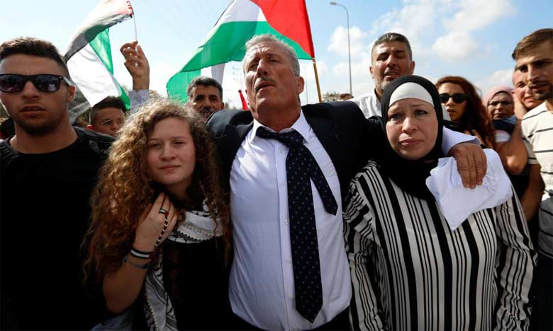 L'icône palestinienne Ahed Tamimi est libre