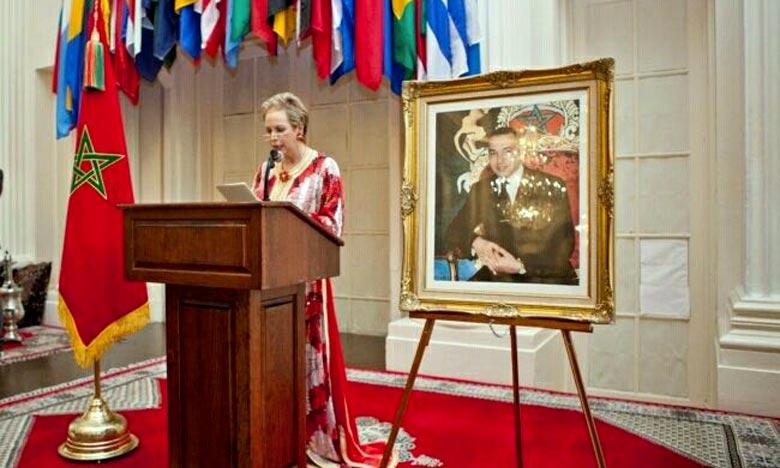 Lalla Joumala Alaoui, ambassadeur du Royaume du Maroc aux Etats-Unis. Ph : DR