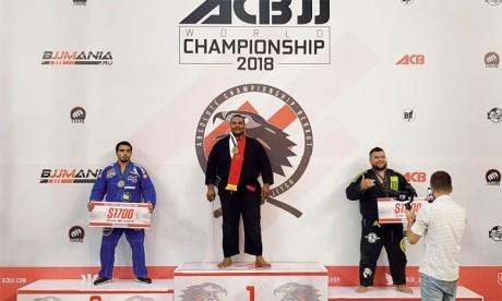 Siffeddine Houmaine  médaillé d'or au Championnat du monde à Moscou