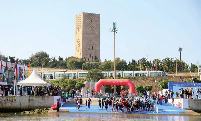 L'étape rbatie a été suivie par un public record qui était là également pour la 11e édition du Festival nautique international de Rabat.