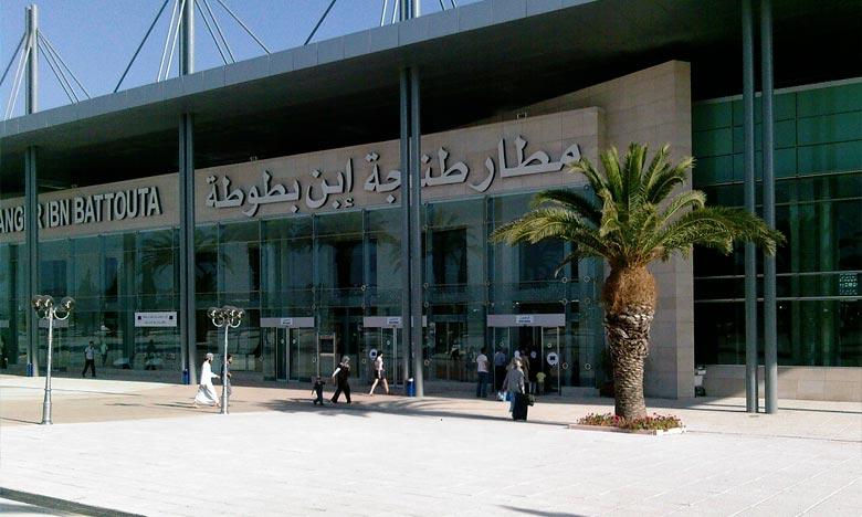Les statistiques mensuelles de l'ONDA montrent qu'un total de 505.222 voyageurs ont transité par l'aéroport international de Tanger. Ph : DR