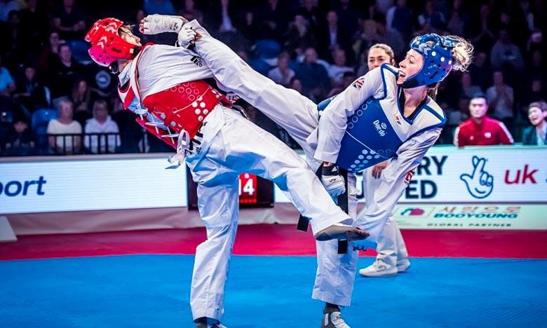 Les taekwondoïstes marocains occupent la tête du classement des 3es Jeux africains de la jeunesse «JAJ 2018» d'Alger. Ph : DR