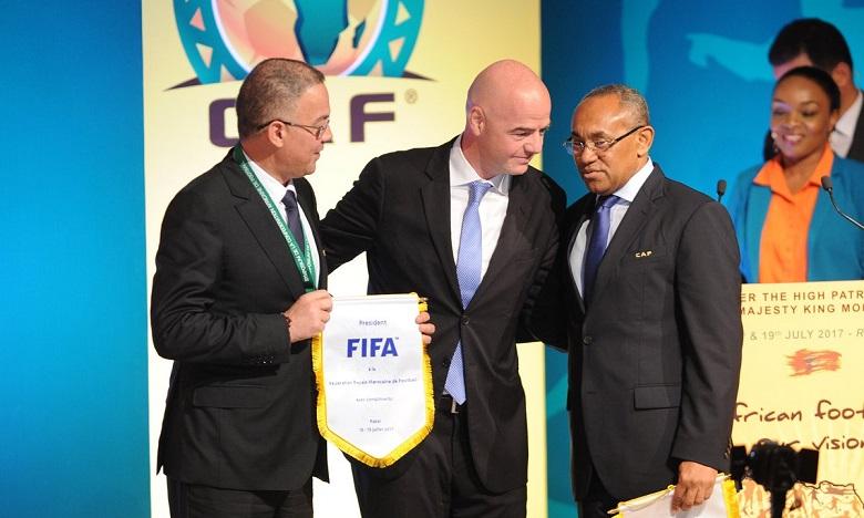 La CAF étudie la participation africaine au Mondial 2018 à Rabat