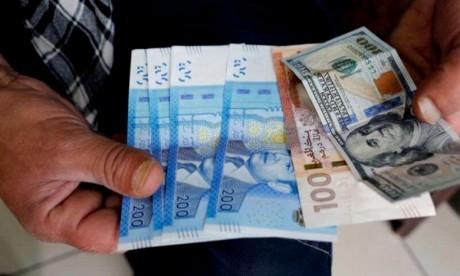 Le dirham s'apprécie vis-à-vis du dollar