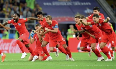 L'Angleterre conjure le sort des tirs au but