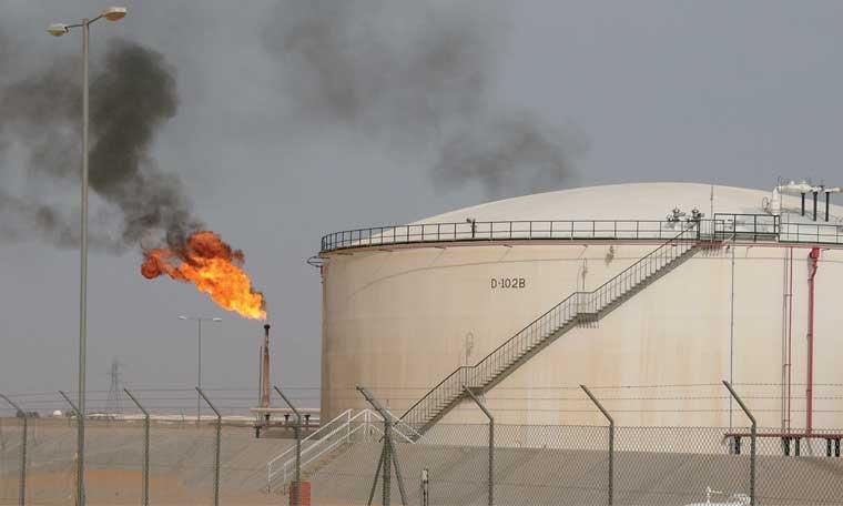 Le volume des gaz brûlés a baissé de 5% en 2017
