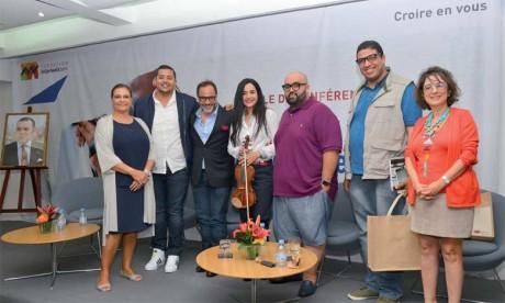 Placée sous le signe du témoignage et du partage, cette rencontre a permis à quatre jeunes créateurs marocains de diverses expressions artistique de partager leur passion.