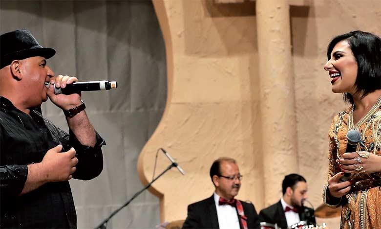 Dans une ambiance festive et conviviale, les mélomanes ont été emportés, dans un voyage musical extraordinaire pour la redécouverte des chansons maghrébines.  Ph. MAP