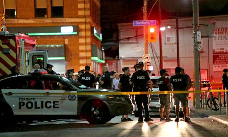Une fusillade à Toronto fait 2 morts et 13 blessés