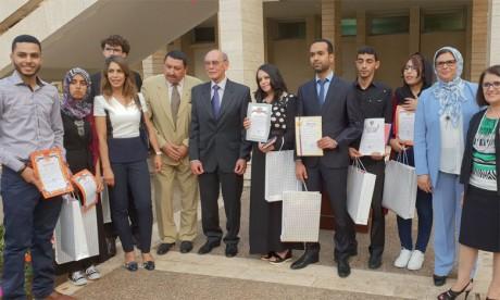 Remise des prix aux lauréats marocains