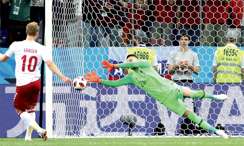 La Russie tient tête à la Roja et se hisse  en quart de finale