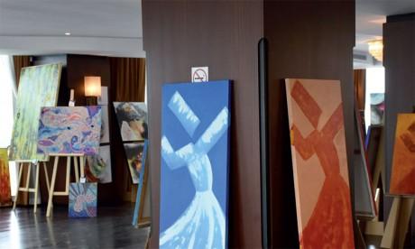 Des artistes-peintres partagent leurs inspirations avec le public