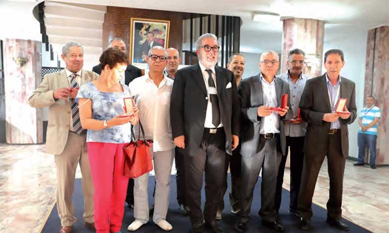 Remise de Wissams Royaux à plusieurs cadres de l'Agence marocaine de presse
