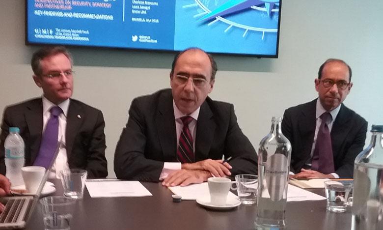 Nicola de Santis, chef de la section Moyen-Orient et Afrique du Nord de la division Affaires politiques et politique de sécurité du Secrétariat international de l'OTAN.