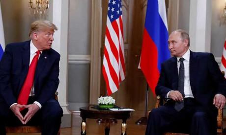Donald Trump conciliant avec Vladimir Poutine,