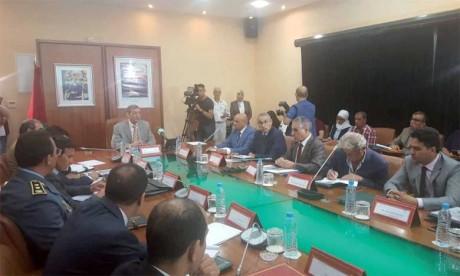 Le haut commissaire aux eaux et forêts et à la lutte contre la désertification, Abdeladim Lhafi, présidant à Rabat  le Conseil de la chasse le 10 juillet2018.  Ph. DR
