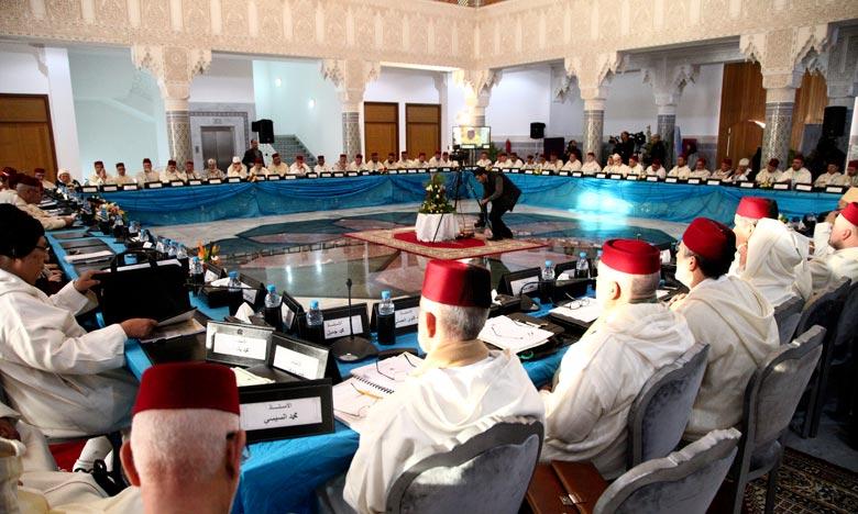 Le Conseil supérieur des ouléma a approuvé, lors sa 26e session ordinaire, une série de recommandations proposées par les commissions mises en place lors cette session. Ph : MAP