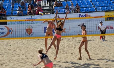 Beach-volley : les paires russe et italienne sacrées à Agadir