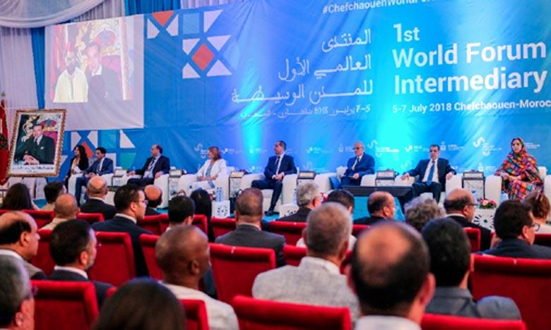 Des représentants des villes intermédiaires rassemblées à l'échelle mondiale, à Chefchaouen, ont appelé à générer un dialogue inclusif, en vue de développer une stratégie nationale pour les villes intermédiaires. Ph : DR