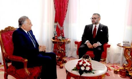 S.M. le Roi reçoit le SG du PPS suite à sa réélection à la tête du parti