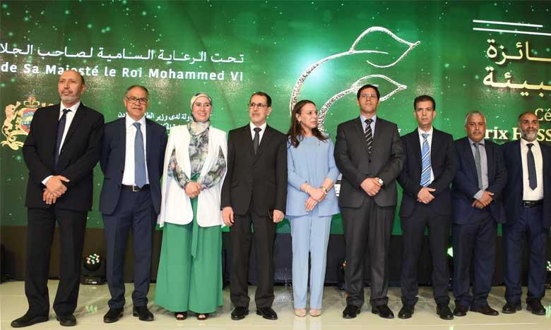 Le Chef du gouvernement préside à Rabat la cérémonie de remise du 12e Prix Hassan II de l'environnement