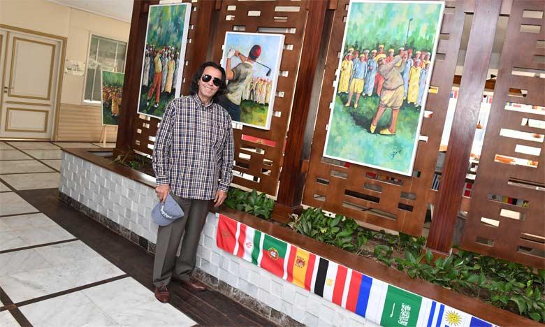 Naïm Chemaou ou le peintre-golfeur