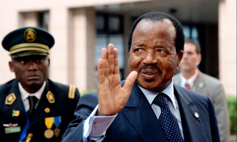 Le président camerounais a affirmé que sa candidature était une réponse à des appels incessants de ses compatriotes du Cameroun et de la diaspora. Ph : DR