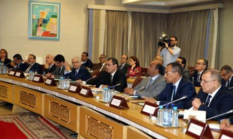 Le comité de pilotage satisfait  de l'avancement des chantiers