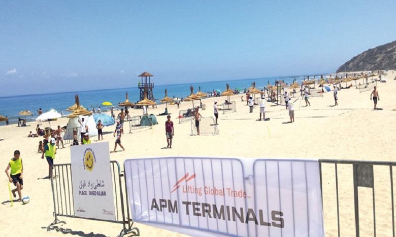 Tanger : la plage de Oued Alian hisse son pavillon bleu pour la 3e fois