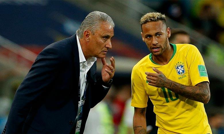 Le coach Tite a refusé de se prononcer sur son avenir en affirmant que «ce n'est pas le moment d'évoquer le futur». Ph : DR